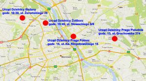 Przeciwko likwidacji szkół:[br] protesty w czterech dzielnicach