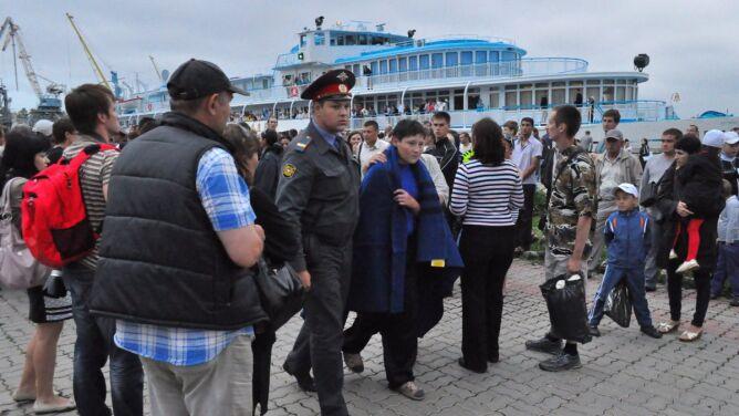 110 ofiar w zatopionym wraku, w tym 30 dzieci