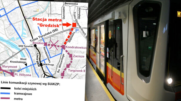 Metro dojedzie na Białołękę? Archiwum TVN / Waldemar Roszak