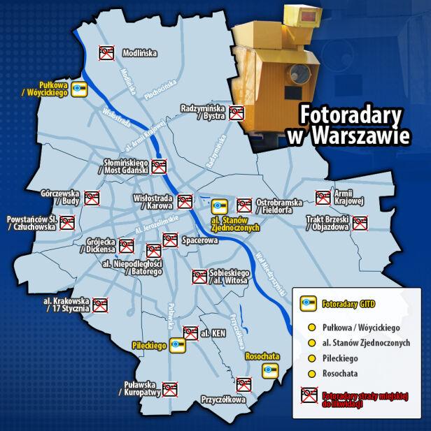 Fotoradary w stolicy tvn24.pl