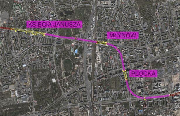 Budowane stacje metra na Woli Metro Warszawskie