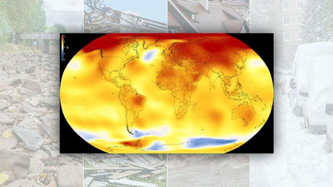 """Temperatura na Ziemi rośnie. <br />""""To jest alarmujące"""""""