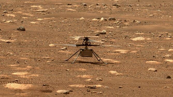 NASA zmieniła plany. Lot drona Ingenuity przełożony