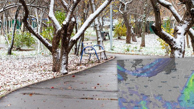 Tydzień z wiatrem i deszczem. W prognozach widać też deszcz ze śniegiem
