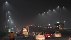Zanieczyszczone powietrze w Nowym Delhi (PAP/EPA/STR)