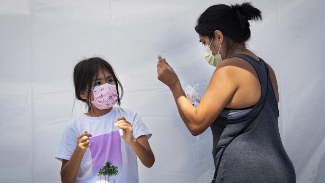 Gwałtowny wzrost liczby dzieci chorych na COVID-19 w Stanach Zjednoczonych