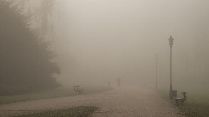 Mglisty poranek w dużej części kraju. Miejscami widzialność sięga 100 metrów